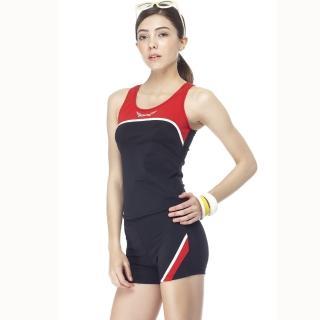 【SAIN SOU】大女兩件式泳裝(附泳帽A92256)