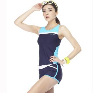 【SAIN SOU】大女兩件式泳裝(附泳帽A92262)
