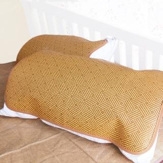 【凱蕾絲帝】台灣製造-軟枕專用透氣紙纖平單式枕頭涼蓆(2入)