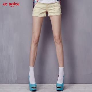 【ET BOiTE 箱子】AMOUR雙色短褲
