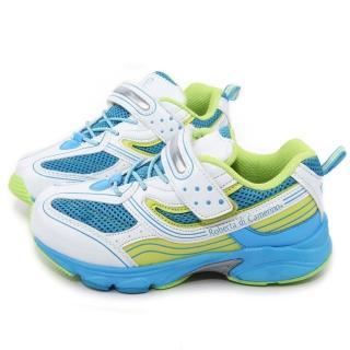 【童鞋城堡】Roberta 中大童 經典義大利輕量運動鞋(612676-白水)