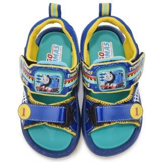 【童鞋城堡】湯瑪士立體LED電燈運動涼鞋(TH43026-藍)