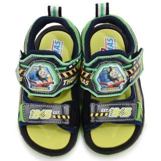 【童鞋城堡】湯瑪士立體LED電燈運動涼鞋(TH43028-綠)