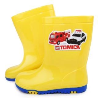 【童鞋城堡】Tomica多美小汽車雨鞋(TM7709-黃)