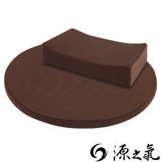 【源之氣】竹炭禪坐墊Q款+摸得到/大圓+小四方/二色可選 RM-40253