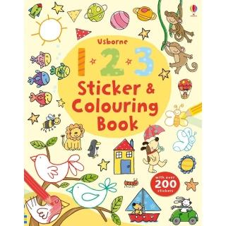 【Song Baby】123 Sticker & Colouring Book 數字123(貼紙著色繪本)
