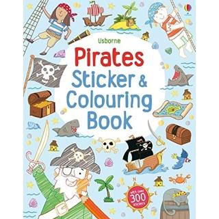 【Song Baby】Pirates Colouring & Sticker Book 海盜(著色貼紙書)
