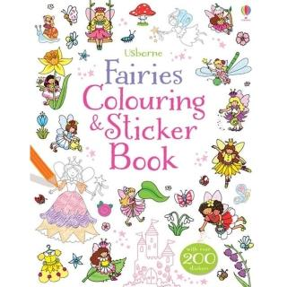 【Song Baby】Fairies Colouring & Sticker Book精靈仙子(著色貼紙書)