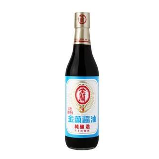 【金蘭】淡色醬油  590ml