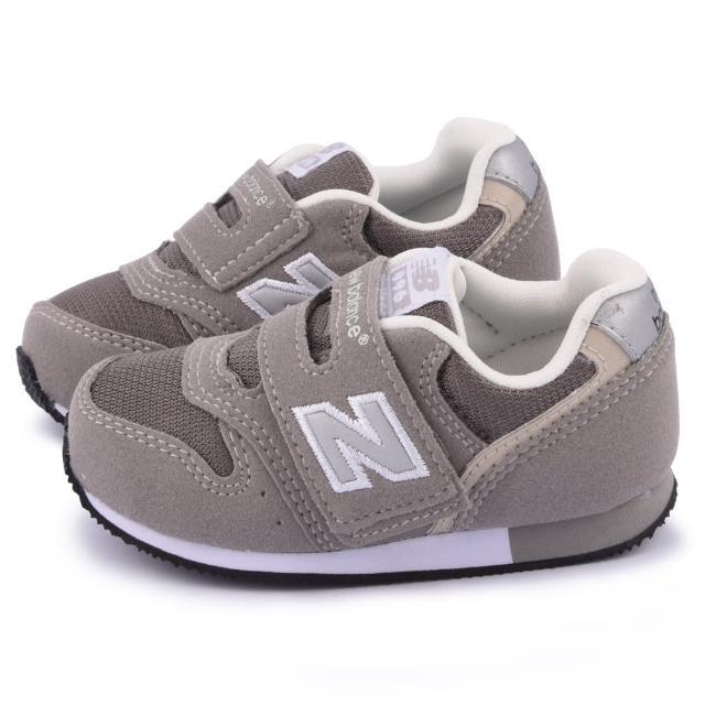 【NewBalance】小童 避震輕量運動鞋(FS996CGI-灰)