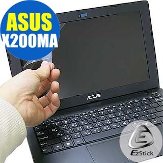 【EZstick】ASUS X200M X200MA 專用 靜電式筆電LCD液晶螢幕貼(可選鏡面或霧面)
