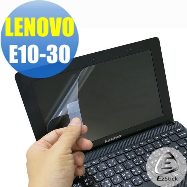 【EZstick】Lenovo E10-30 專用 靜電式筆電LCD液晶螢幕貼(可選鏡面或霧面)
