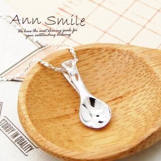 【微笑安安】小湯匙925純銀細緻項鍊