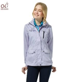 【DEODAR】防潑水防風女款機能外套