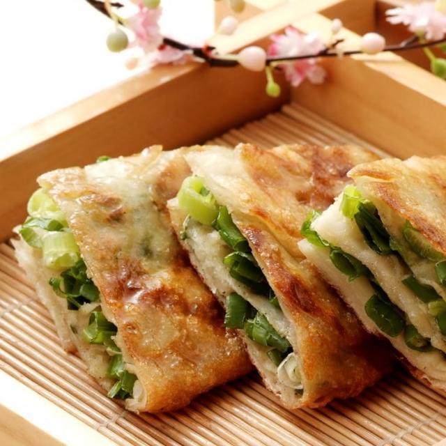 【鮮食家任選799】阿福伯北方蔥油餅(750g-5片-包)