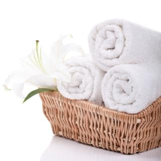 【法式寢飾花季】優雅生活-五星級飯店御用白色平織方巾(10件組)
