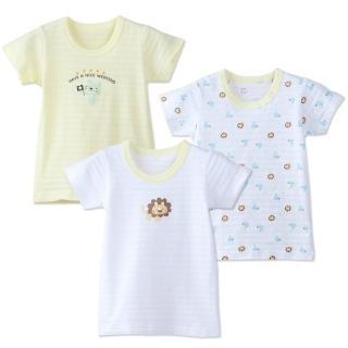 【3件入】日本熱銷竹節棉短袖上衣內衣