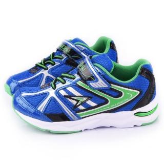 【Achilles瞬足】大童 輕量機能運動鞋(ESJJ0110-寶藍)