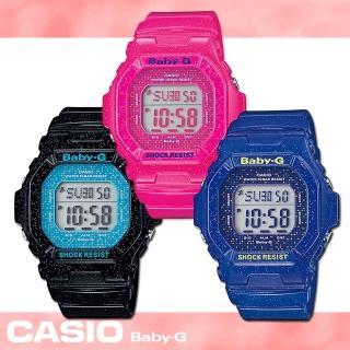 【CASIO 卡西歐 Baby-G 系列】閃耀星空系列女錶(BG-5600GL)