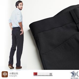 【NST Jeans】391-6918 德意志黑羊毛萊卡 L口袋西裝褲(中腰)