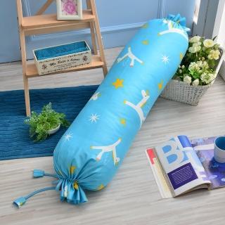 【義大利Fancy Belle X Malis】《小飛馬-粉藍》造型糖果枕(100*25CM)
