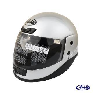 【ASIA】A801 FreeStyle 全罩安全帽(銀)