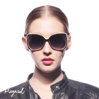 【MEGASOL】法國精品設計師同款寶麗萊UV400偏光太陽眼鏡(MSP9110 - 5色任選)