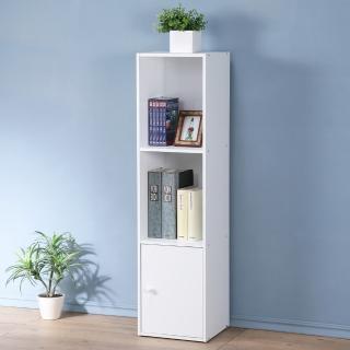 【Homelike】現代風三格單門置物櫃(三色)