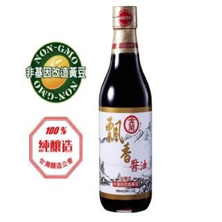 【金蘭】飄香醬油590ml