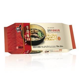 【五木】牛肉味拉麵 321g