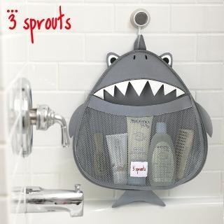 【加拿大 3 Sprouts】鯊魚浴室收納袋