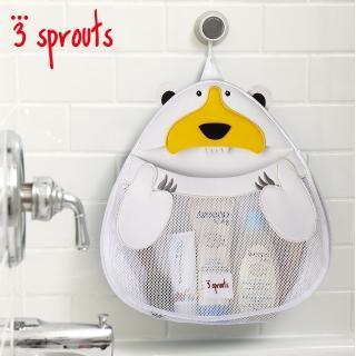【加拿大 3 Sprouts】北極熊浴室收納袋