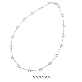 【CANYON】竹節銀項鍊