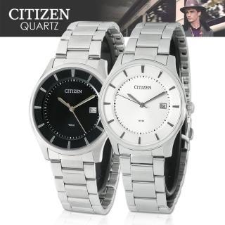 【CITIZEN 日本星辰】日系經典款-不鏽鋼指針男錶(BD0040-57A_BD0040-57E)