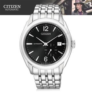 【CITIZEN 星辰】藍寶石水晶_防水100米_自動上鍊機械錶(NJ0060-57E)