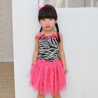 【baby童衣】嬰兒洋裝豹紋 紗裙套裝52234
