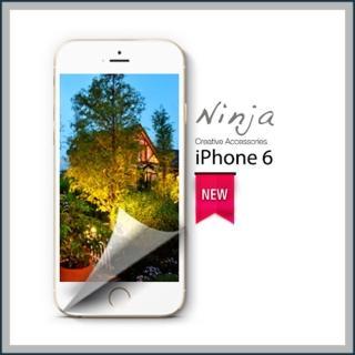 【東京御用Ninja】iPhone 6專用4.7吋高透防刮無痕螢幕+機身保護貼(正反兩面)