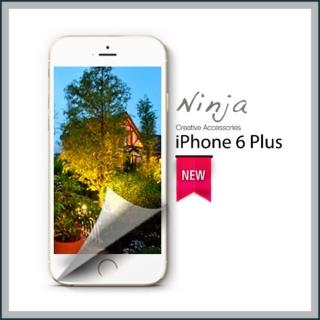 【東京御用Ninja】iPhone 6 Plus專用5.5吋高透防刮無痕螢幕+機身保護貼(正反兩面)