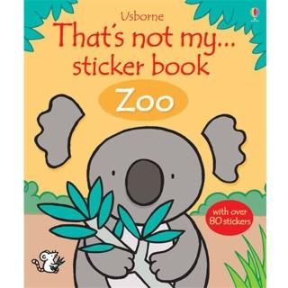 【Song Baby】That's Not My Sticker Book Zoo(貼紙書)