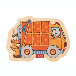 【德國Sigikid】拼圖遊戲-環保車(親子益智)