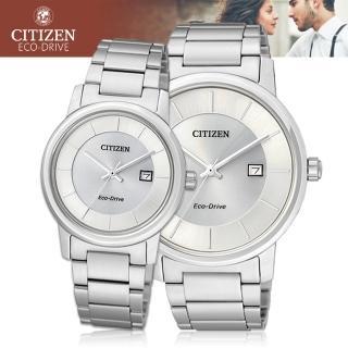 【CITIZEN 日系星辰】日系-甜蜜浪漫情人對錶(BM6750-59A+EW1560-57A)
