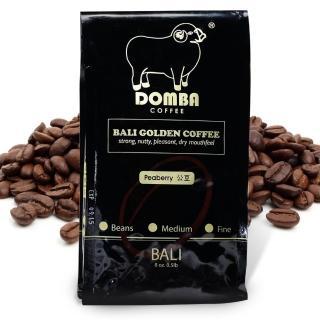 【幸福小胖】巴里島小綿羊黃金咖啡公豆-圓豆2包(半磅/包)