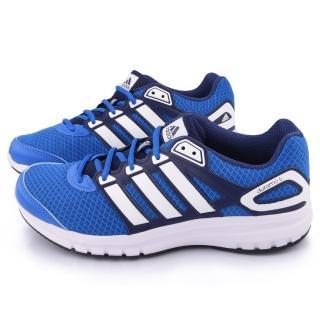 【Adidas】男款Duramo 6 M 輕量慢跑鞋(B40950-藍白)
