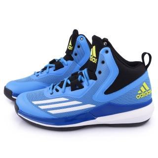 【Adidas】男款TITLE RUN 籃球運動鞋(S84204-藍)