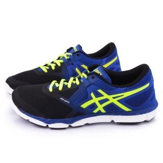 【Asics】男款 33-DFA 輕量慢跑鞋(T532N-6004-藍)