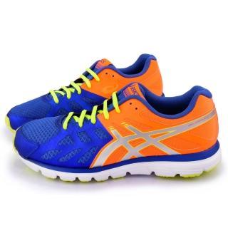 【Asics】男款 GEL-ZARACA 3 慢跑運動鞋(T4D3N-4293-藍橘)