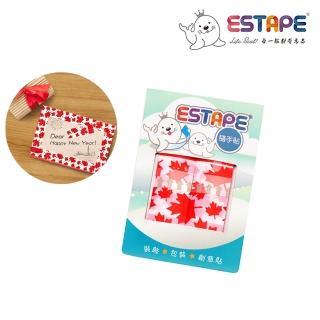 【ESTAPE】隨手貼OPP 瘋國旗(加拿大風)