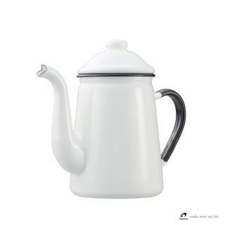 【野田琺瑯】咖啡壺(米白)