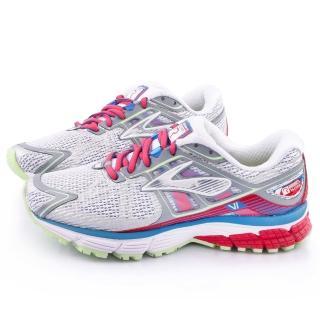 【BROOKS】女款 Ravenna 6 輕量支撐型寬楦跑鞋(BK1201821D157-灰紅)