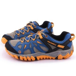 【MERRELL】男款  水陸兩棲運動鞋(ML65101-藍橘)